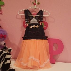 Overall style dress 3t